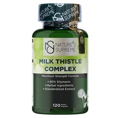 Nature's Supreme Milk Thistle Complex 120 Kapsül