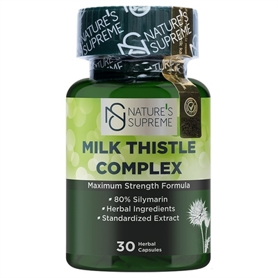 Nature's Supreme Milk Thistle Complex 30 Kapsül