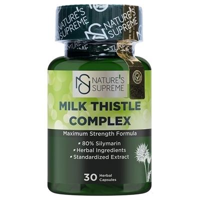 Nature\'s Supreme Milk Thistle Complex 30 Kapsül