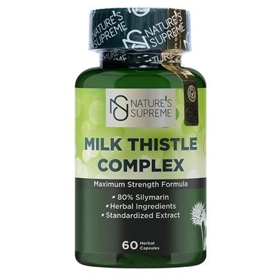 Nature\'s Supreme Milk Thistle Complex 60 Kapsül