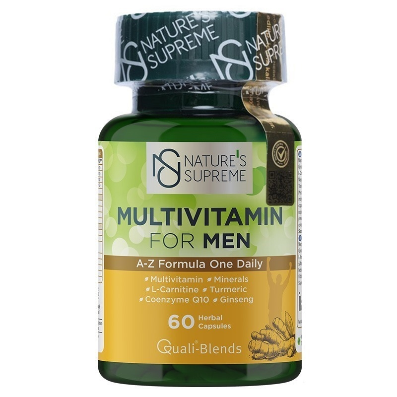 Nature's Supreme Multivitamin for Men 60 Kapsül