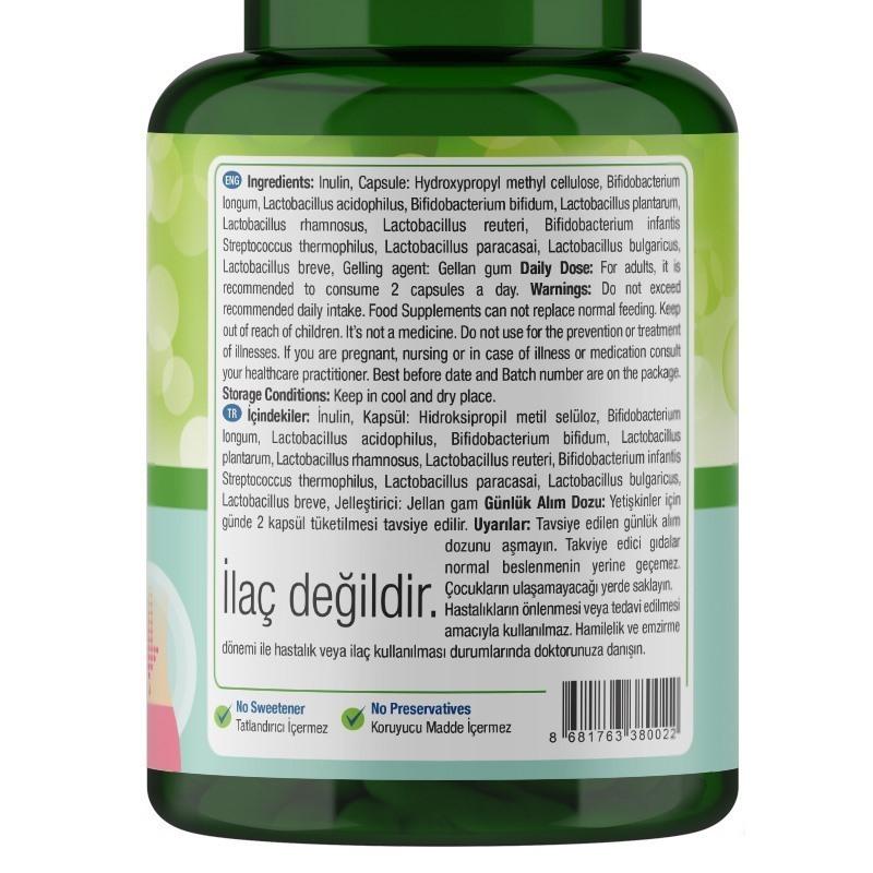 Nature's Supreme Probiotic 5B 60 Kapsül