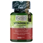 Nature's Supreme Vitamin B1 100 Mg 100 Kapsül