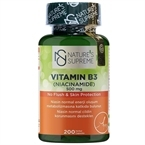 Nature's Supreme Vitamin B3 500 Mg (No Flush) 200 Kapsül