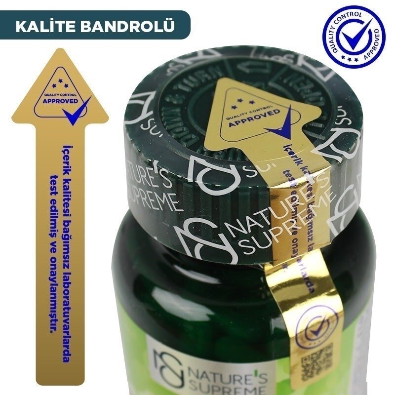 Nature's Supreme Vitamin B5 500 Mg 100 Kapsül
