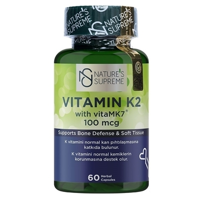 Nature's Supreme Vitamin K2 100 Mcg 60 Kapsül