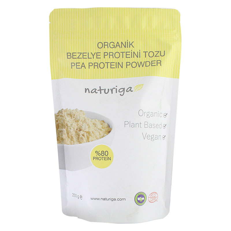 Naturiga Organik Bezelye Proteini Tozu 250 Gr
