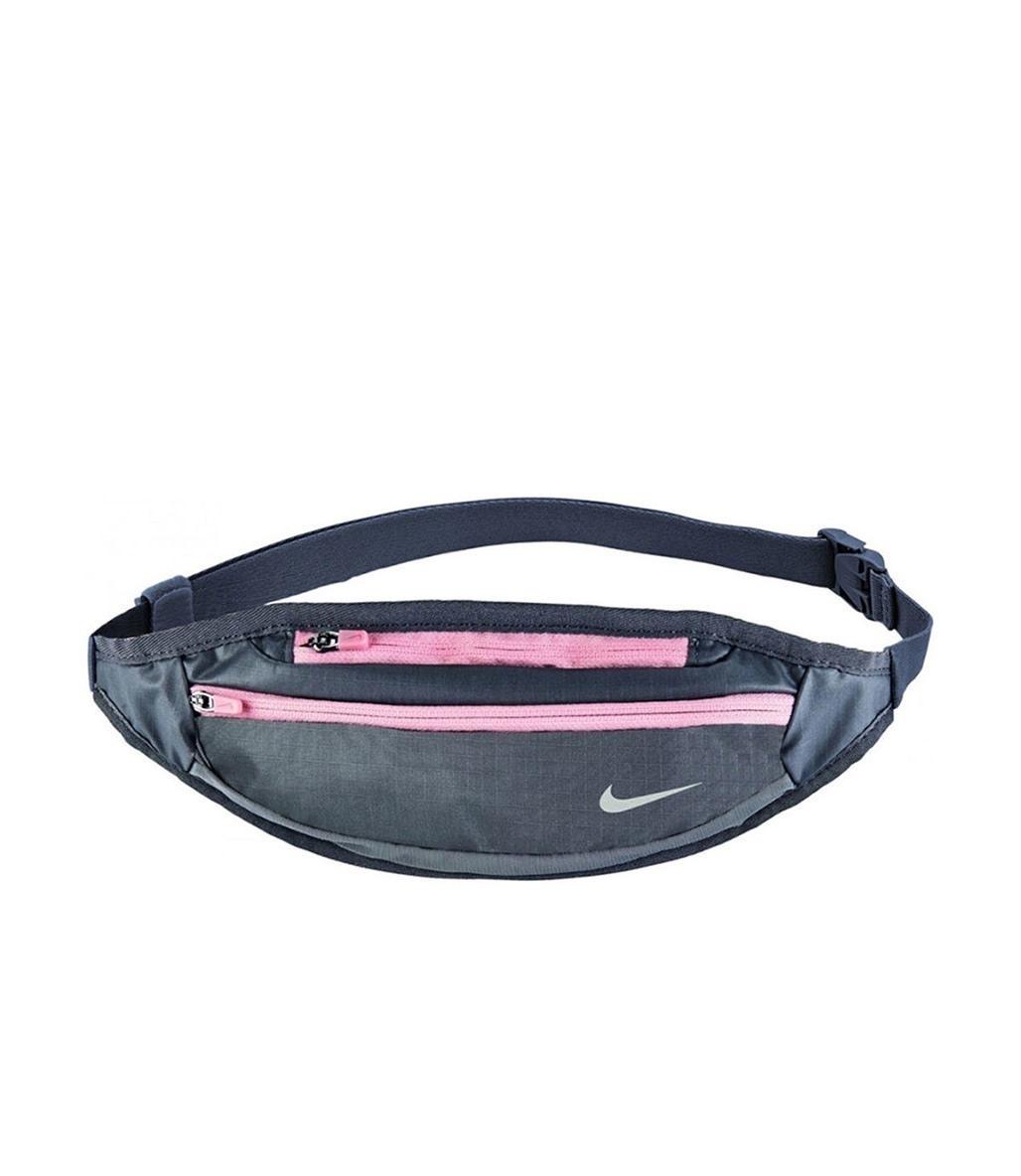 Nike Small Capacity Waistpack Gri-Pembe