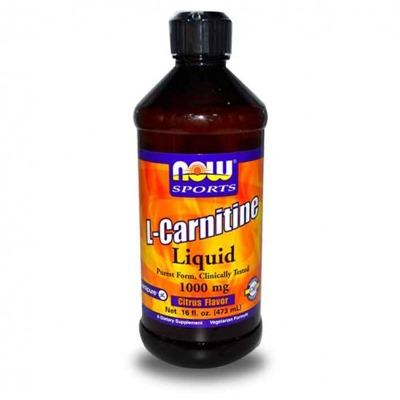 Now Sports L-Carnitine Liquid 1000 Mg 473 ML