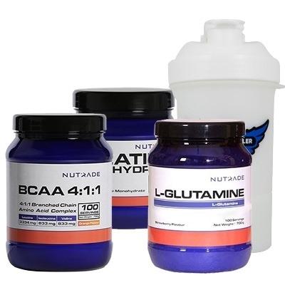 Nutrade BCAA + Glutamine + Creatine Kombinasyonu