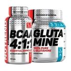 Nutrend Glutamine 300 Gr +  BCAA 100 Tablet Kombinasyonu