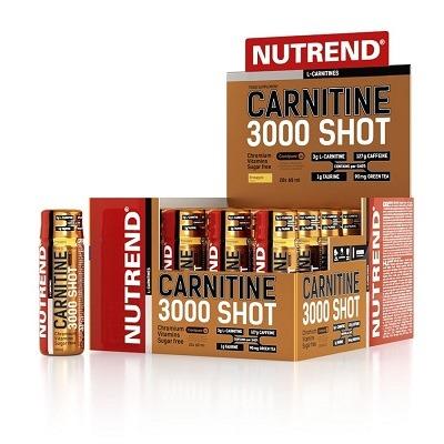 Nutrend L-Carnitine Shot 3000mg 20 Ampül