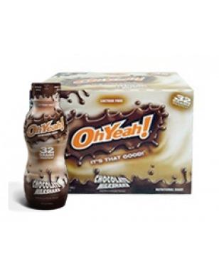Oh Yeah Milkshake 414 ML 12 Adet