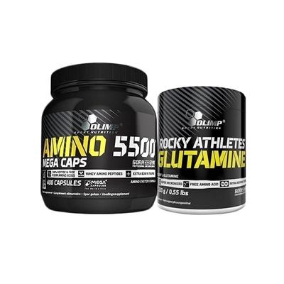 Olimp Amino 5500 + Rocky Glutamine Kombinasyonu