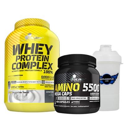 Olimp Protein + Amino Kombinasyonu