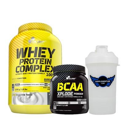 Olimp Protein + BCAA Kombinasyonu