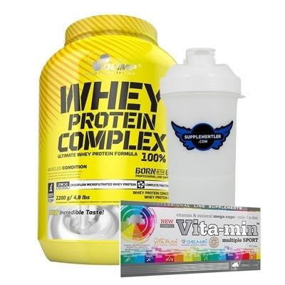Olimp Whey Protein 2.2 Kg + Vita-Mineral Multivitamin Kampanyası