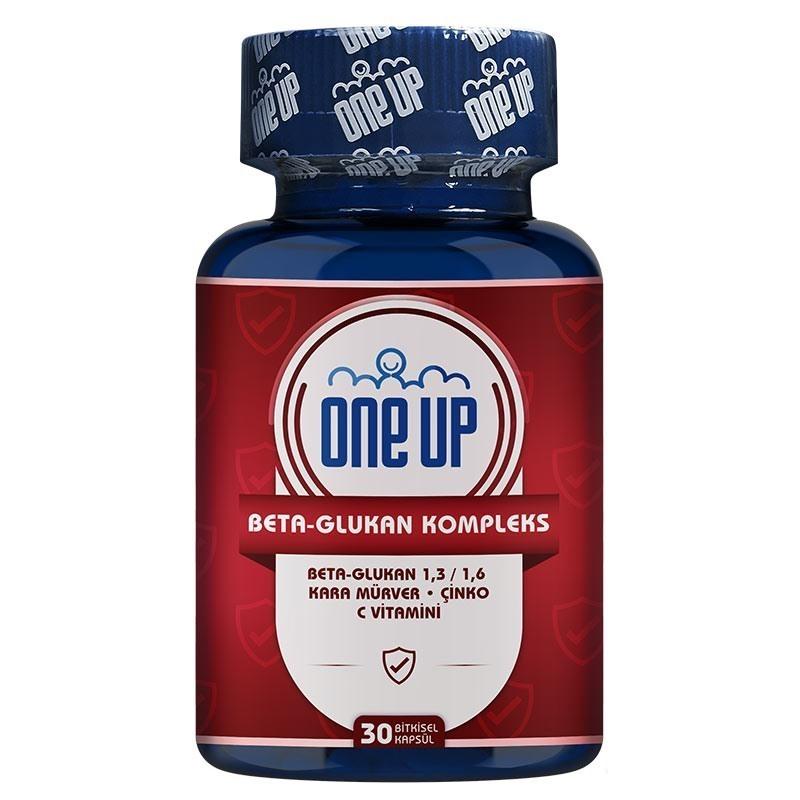 One Up Beta-Glukan Kompleks 30 Kapsül