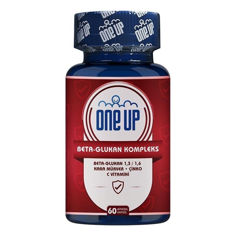 One Up Beta-Glukan Kompleks 60 Kapsül