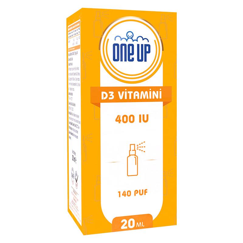 One Up D3 Vitamini 400 IU 20 mL Sprey & Damla