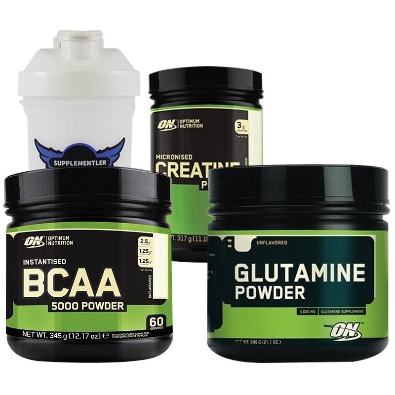 Optimum BCAA 5000 + Glutamine + Creatine Kombinasyonu