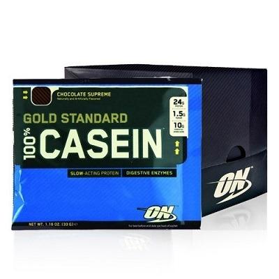 Optimum Gold Standard Casein 33 Gr Tek Kullanımlık 24 Adet