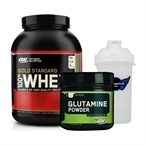 Optimum Gold Standard Whey 2273 Gr + Glutamine Powder 630 Gr Kombinasyonu