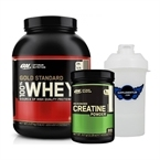 Optimum Gold Standard Whey 2273 Gr + Optimum Micronised Creatine 317 Gr
