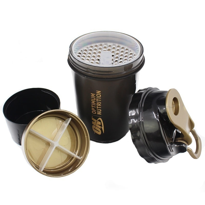 Optimum Gold Standard Zone Shaker Black-Gold