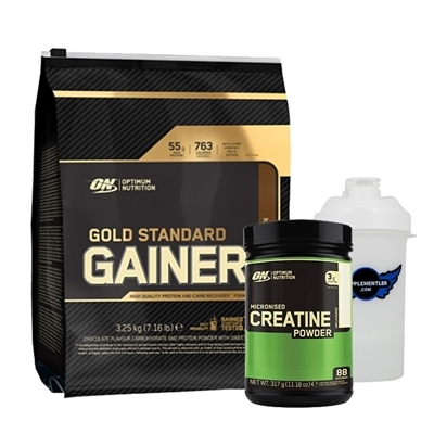 Optimum Gold Standart Gainer + Creatine Powder Kombinasyonu