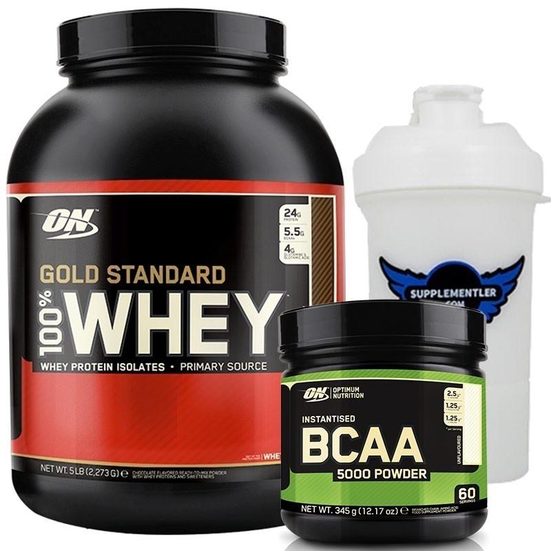 Optimum Gold Standart Whey + BCAA 5000 Kombinasyonu