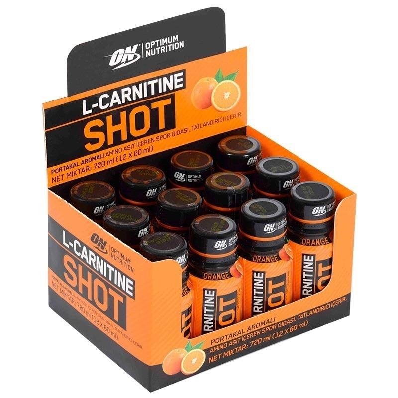 Optimum L-Carnitine Shot 60 mL 12 Adet