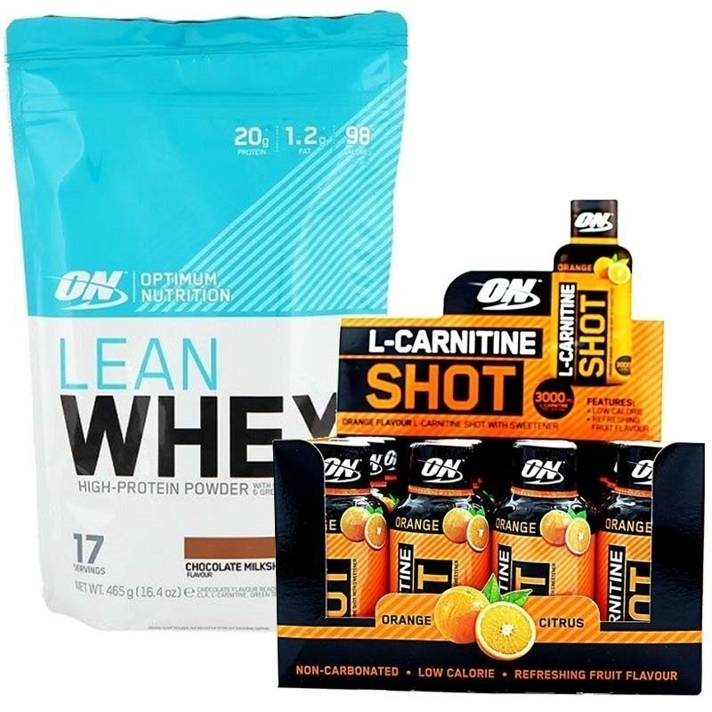 Optimum Lean Whey 465 Gr + L-Carnitine 3000 Mg Kombinasyonu