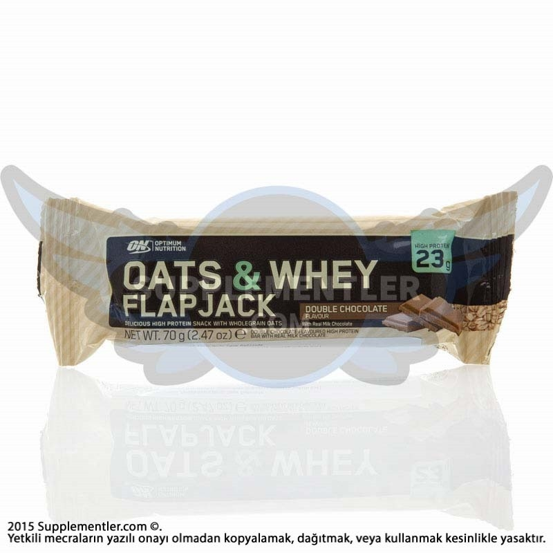 Optimum Oats & Whey Flapjack 70 Gr 12 Adet