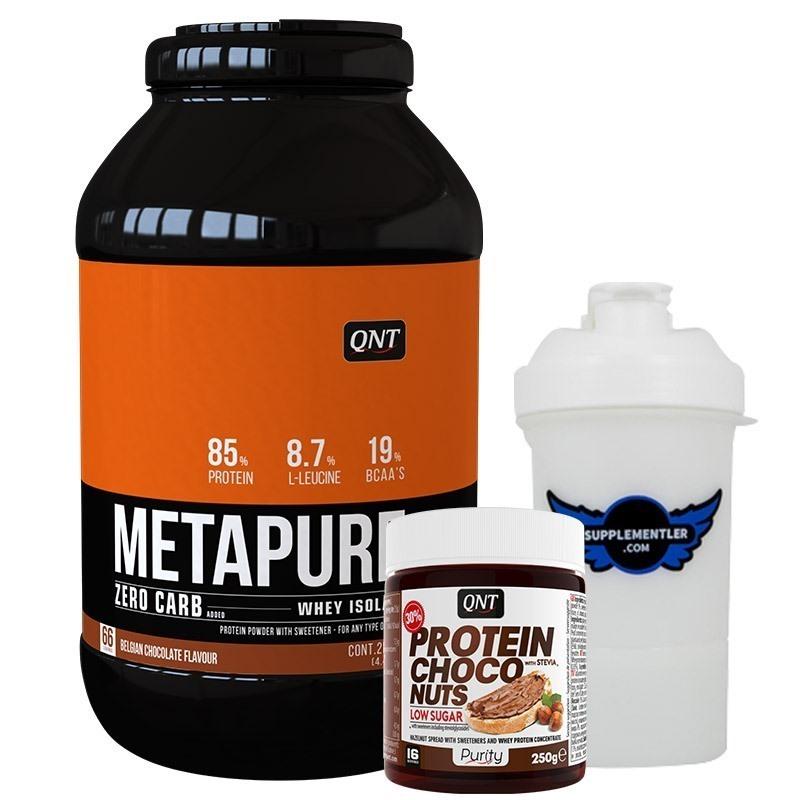 Qnt Metapure Zerocarb Whey Isolate + Choco Spread Kombinasyonu