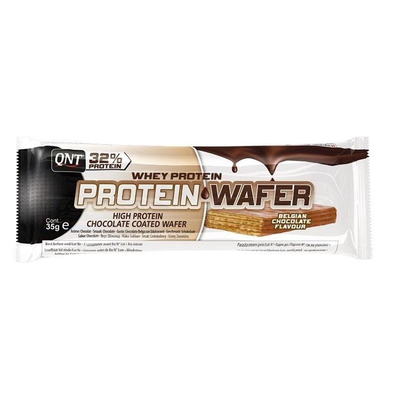 Qnt Protein Wafer Bar 35 Gr Gofret Protein Bar