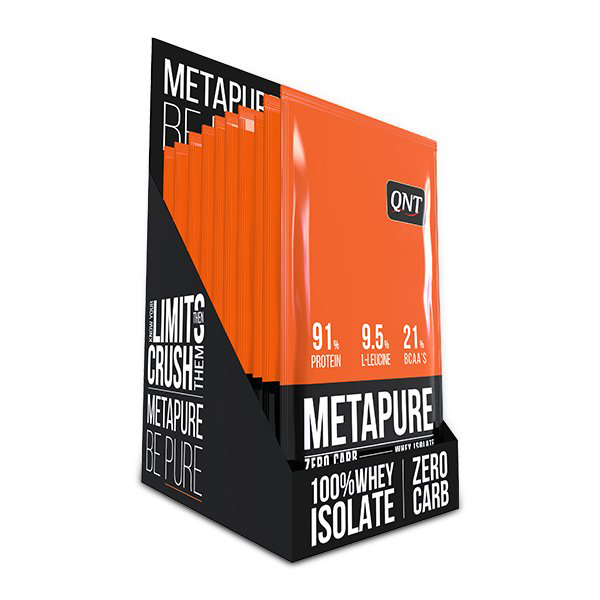 Qnt Zerocarb Metapure Whey Protein Isolate 30 Gr