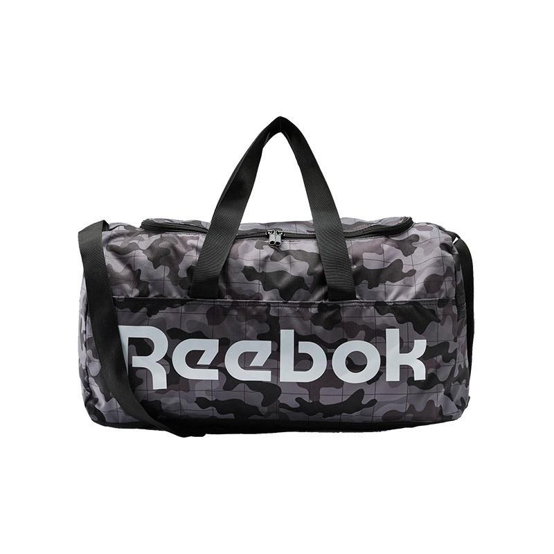 Reebok Active Core Graphic Duffel Bag Medium Çanta Siyah Kamuflaj