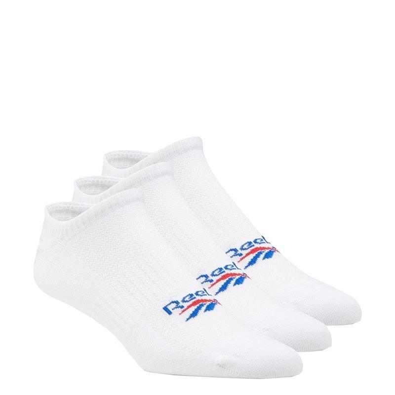 Reebok Classics Foundation Invisible Socks 3Lü Çorap Beyaz