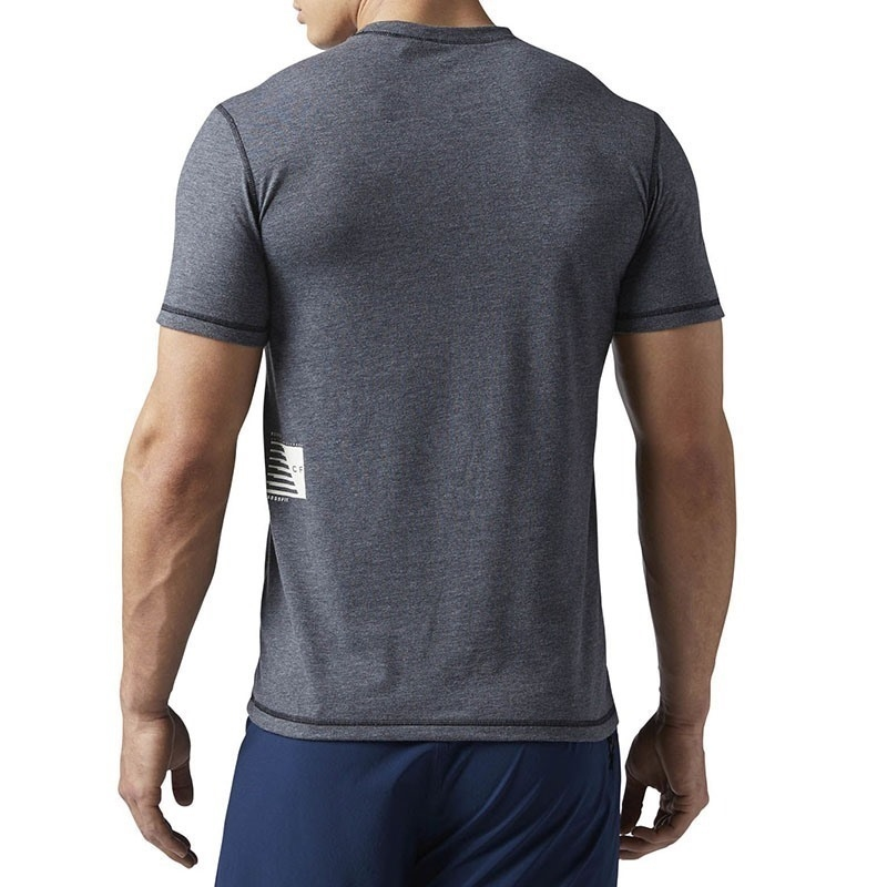 Reebok Crossfit Burnout T-Shirt - Koyu Gri