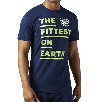Reebok Crossfit Games T-Shirt - Lacivert