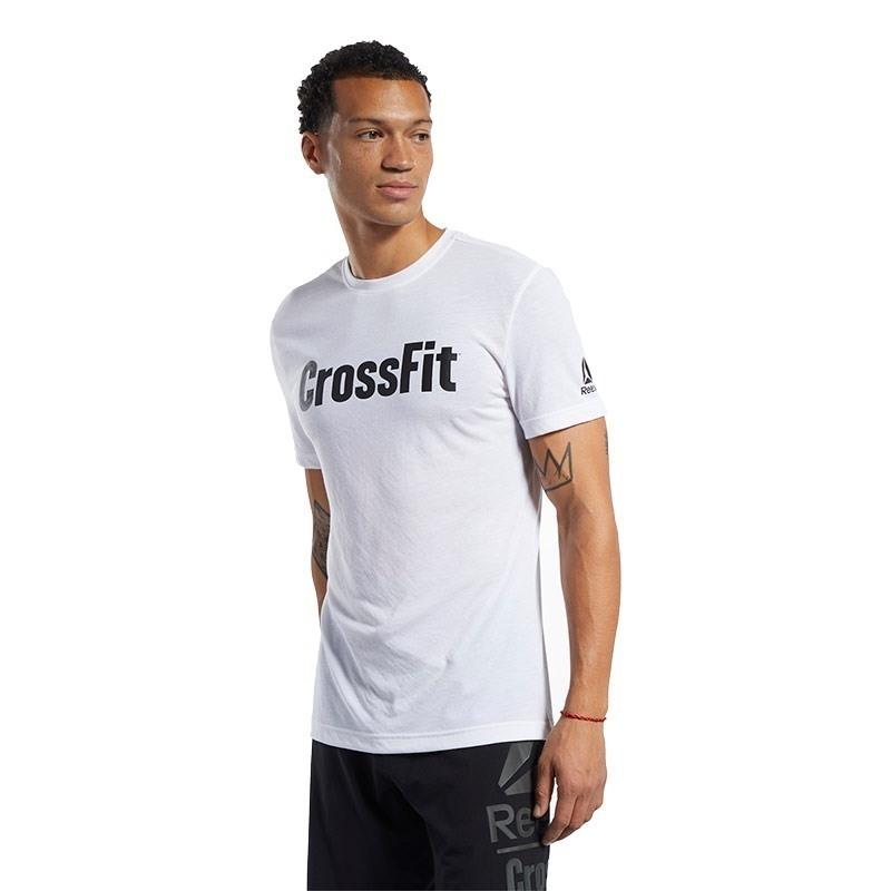 Reebok Crossfit Read Tee T-Shırt Beyaz