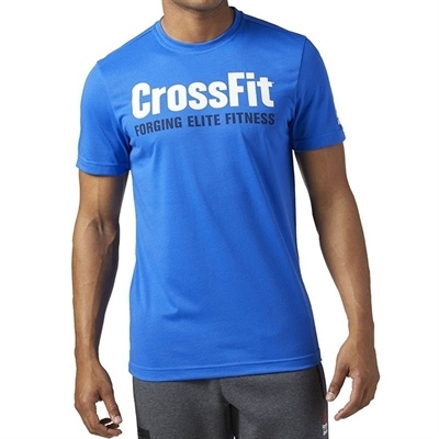 Reebok Crossfit Speedwick T-Shirt - Mavi
