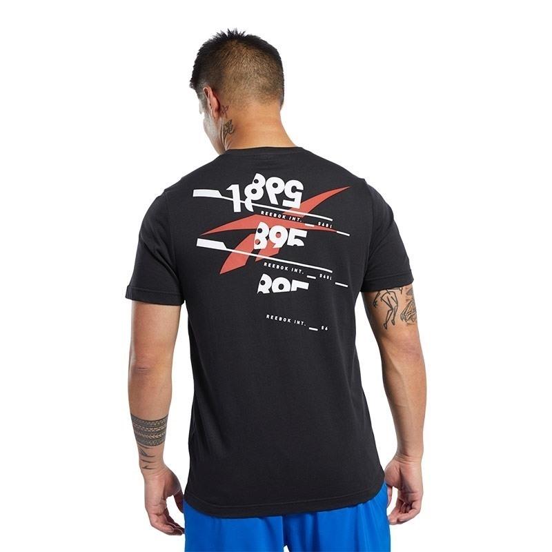 Reebok Graphic Tee T-Shirt Siyah