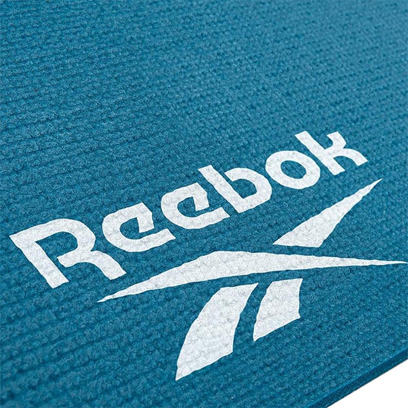 Reebok Çift Taraflı Yoga & Pilates Minderi 4 Mm Mavi