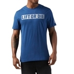 Reebok Lift Or Die T-Shirt Mavi