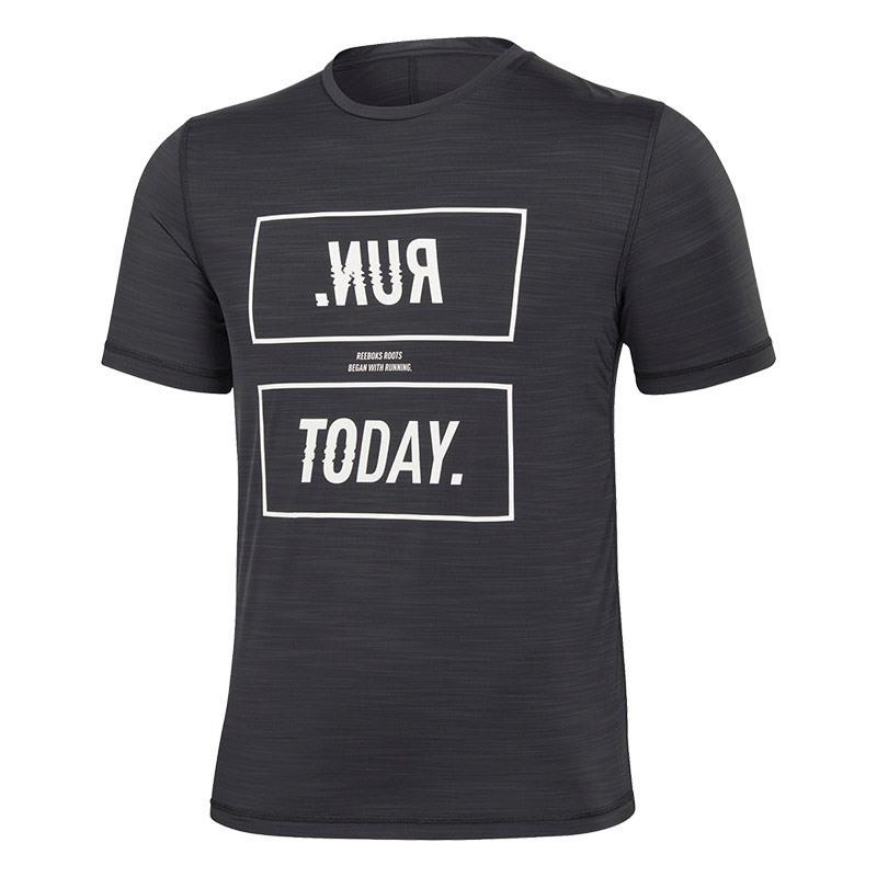 Reebok One Series Running Activchill Tee T-Shirt Siyah