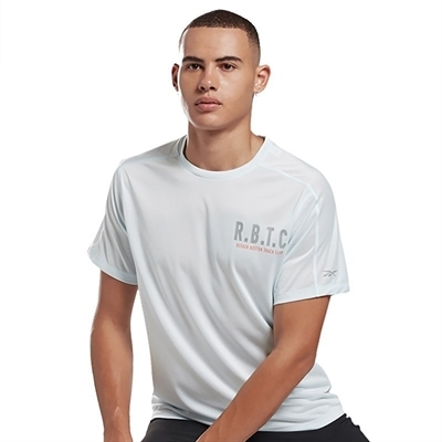 Reebok One Series Running Reflect Move Tee T-Shirt Açık Mavi