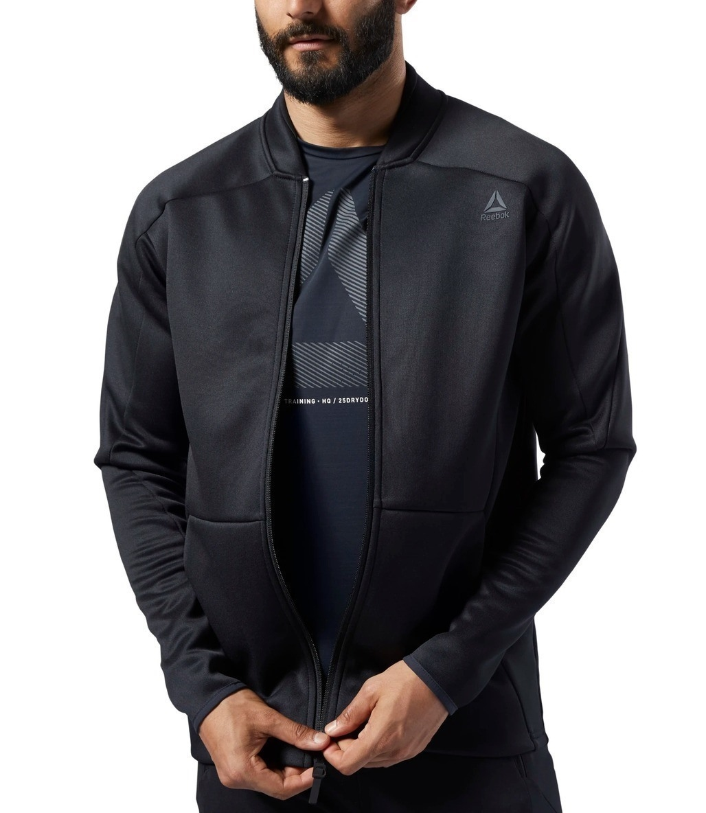 Reebok One Series Training Spacer Track Jacket Siyah