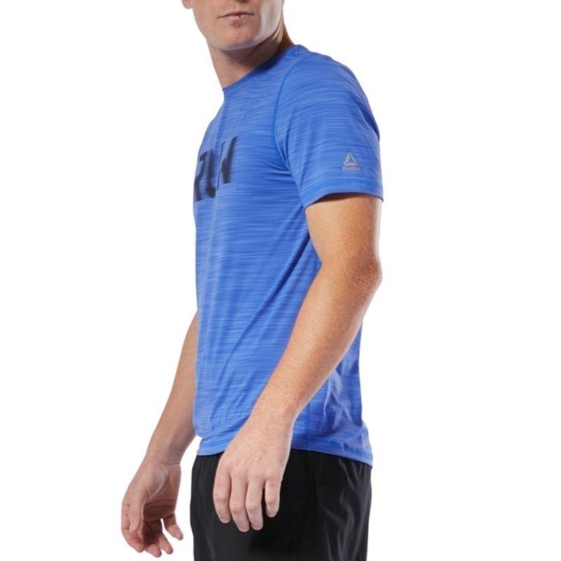 Reebok Running Activchill T-Shirt - Mavi